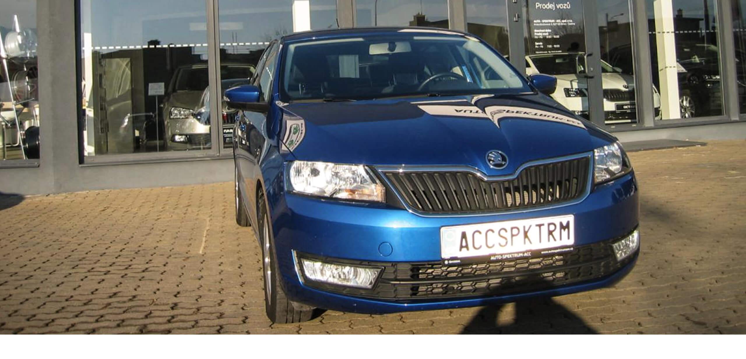 Škoda Rapid 1,2TSI/66kW AMBITION FRESH autospektrumacc