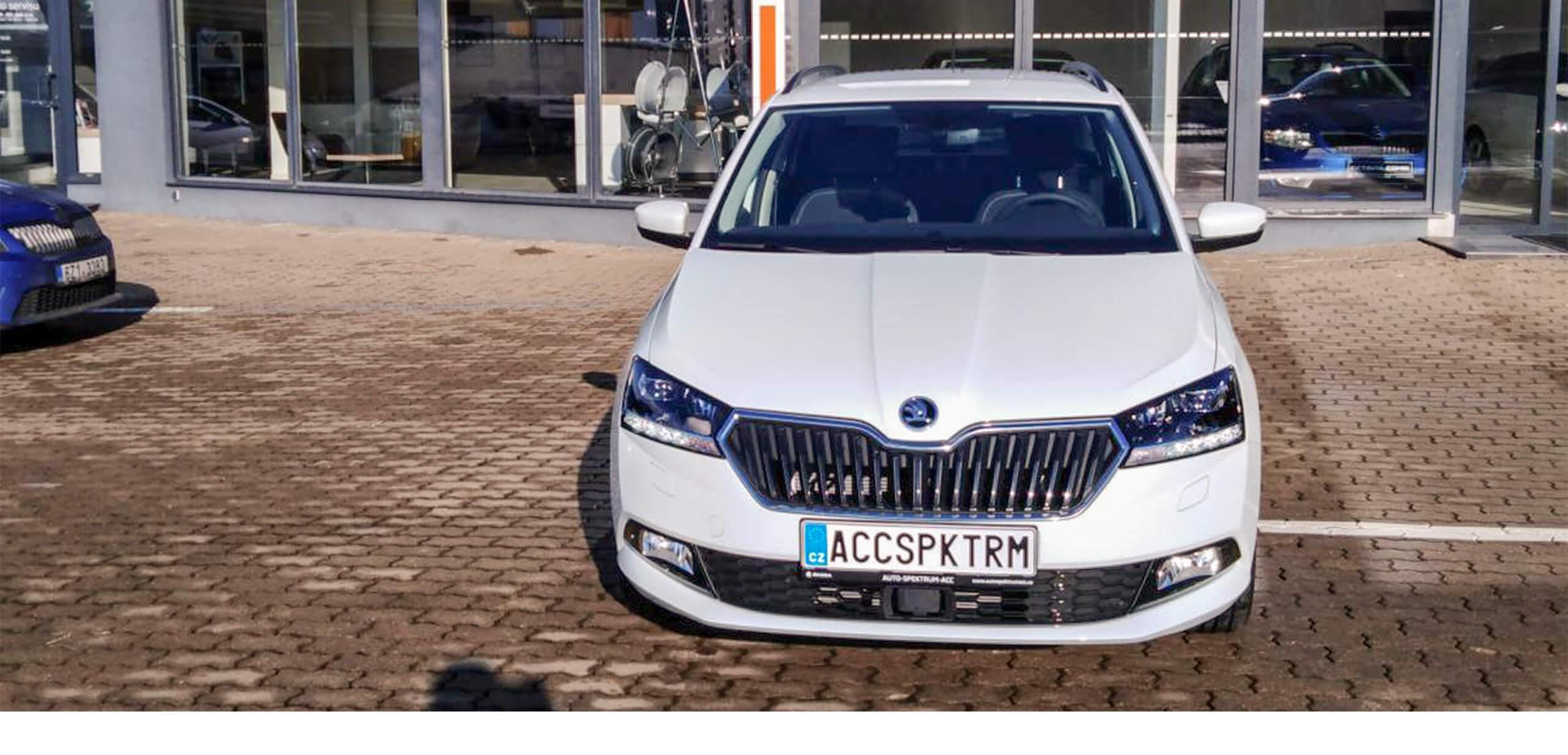 autospektrum acc Brno slatinaq Škoda Fabia COMBI 1.0TSI/70kW STYLE PLUS