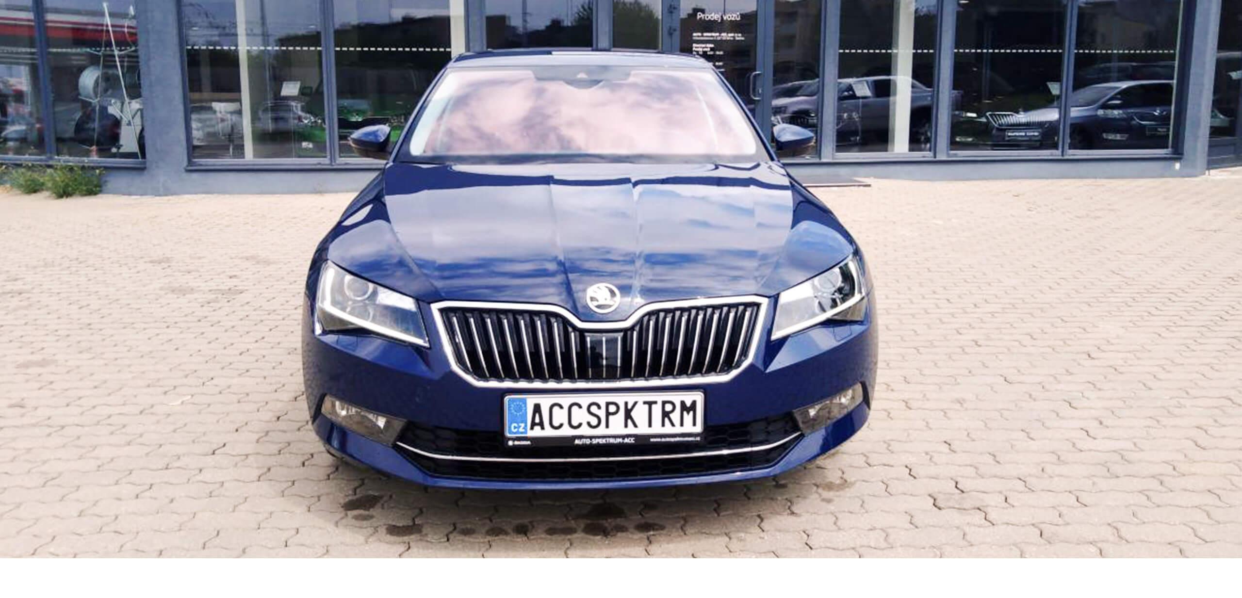 Autospektrum ACC brno slatina Škoda Superb STYLE 2,0 TDI/ 140kW 4X4 DSG