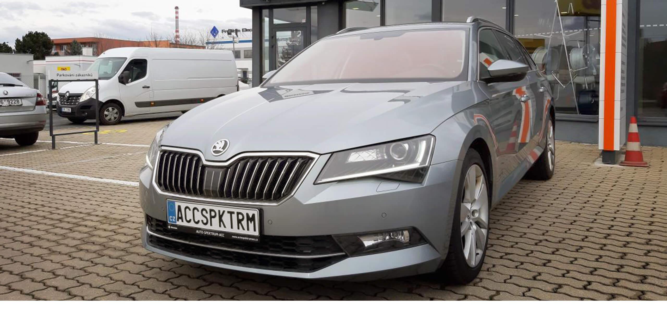 autospektrumacc Škoda Superb Combi 2,0TDI/110kW DSG Style brno slatina